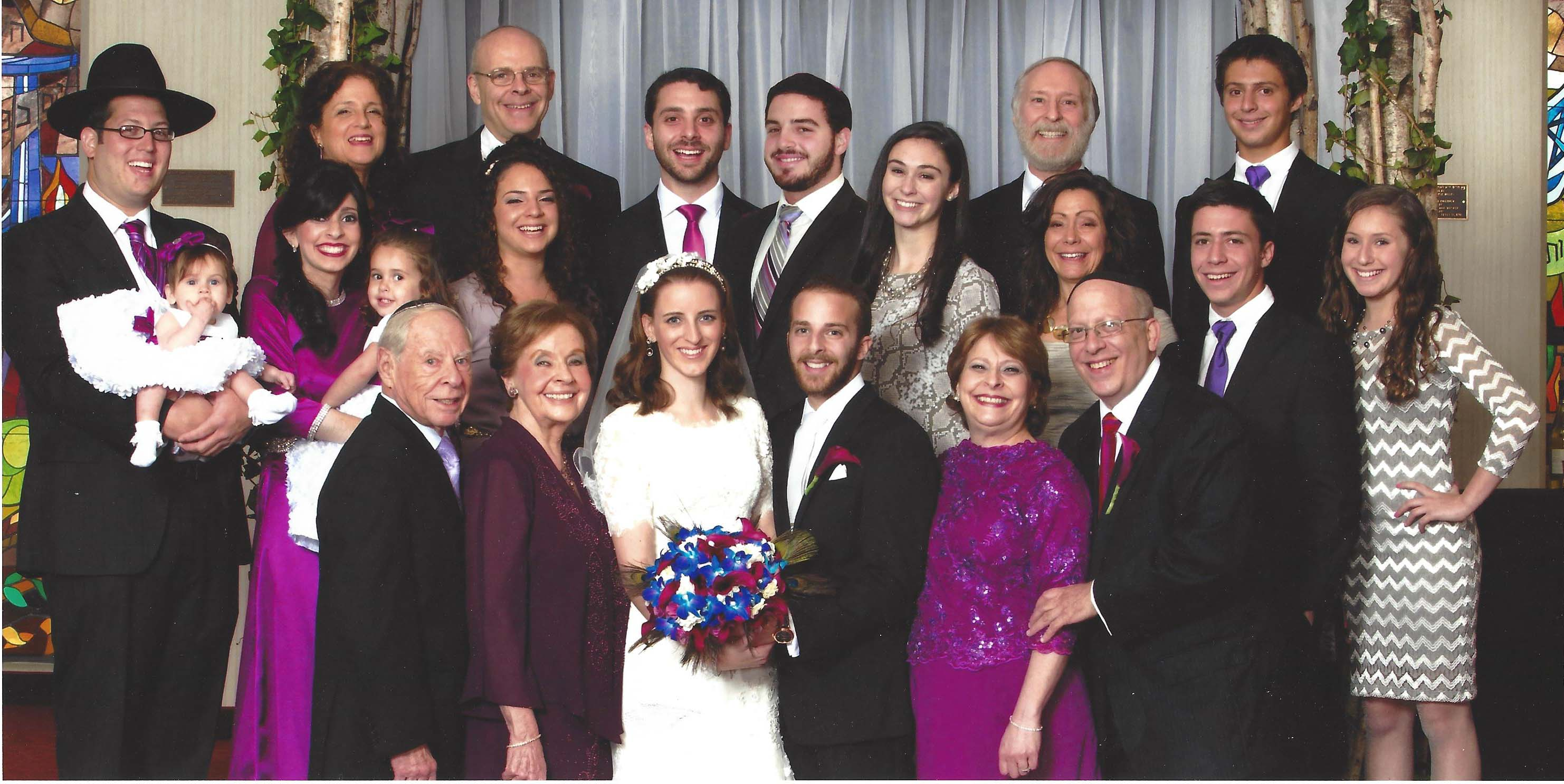 Marion and Nathaniel & Family, August 2014 at the wedding of Allysa and Joshua A story of survival and continuity.