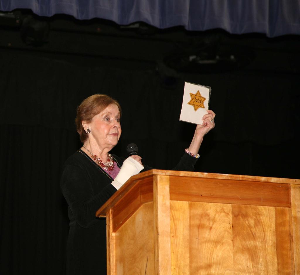 Syracuse Holocaust Remembrance at Cong. Beth Sholom-Chevra Shas, 18 Patsy Lane, off Jamesville Rd., DeWitt,  NY
